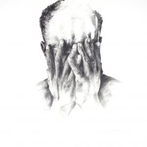 Grant de Lange These Hands Are Memories Charcoal on paper 900x800mm 2019