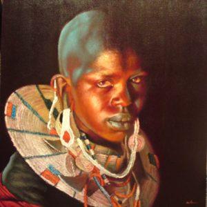 AP18 Masai Maiden