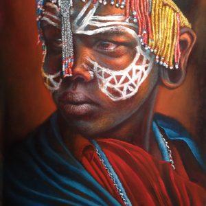 AP59 Masai Maiden