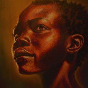 AP73 African Woman