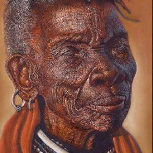 AP90 Turkana Elder Woman