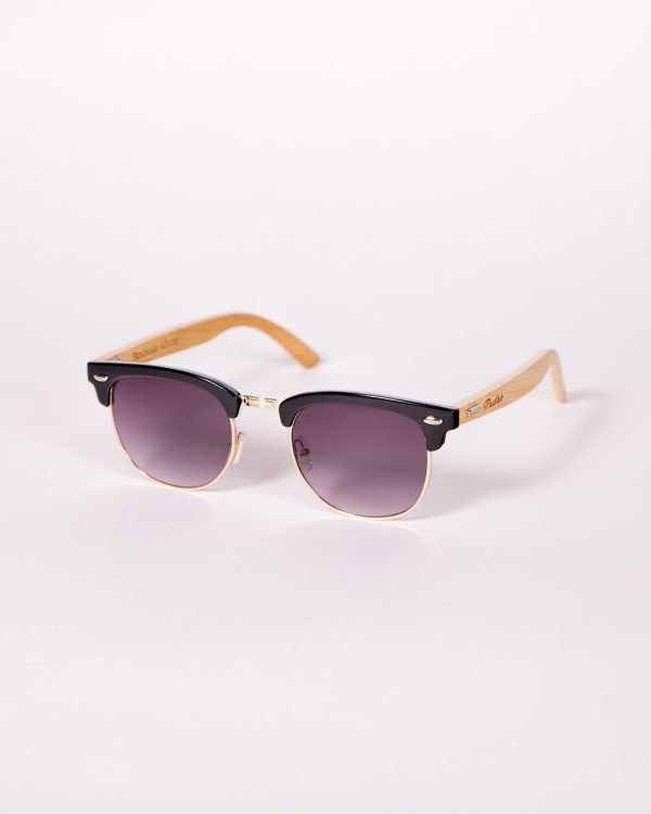 Clubmaster Bamboo Black