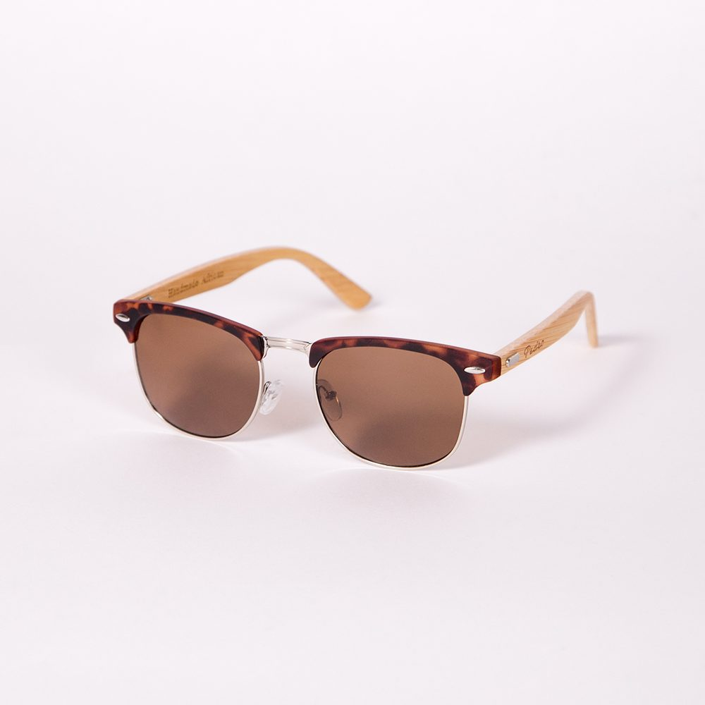 Clubmaster Bamboo Tortoise Shell