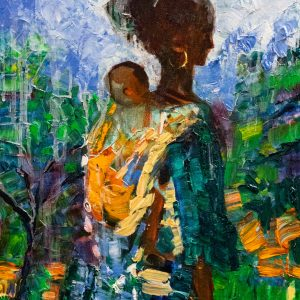 VIGLIETTI Africa Dreaming Oil on canvas 610x460mm 2020 R25000