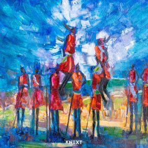 VIGLIETTI Maasai Marra Oils on canvas 1250x1050mm 2019 R80000