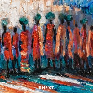 VIGLIETTI We are the Scatterings of Africa Oil on canvas 1250x260mm 2019 R45000