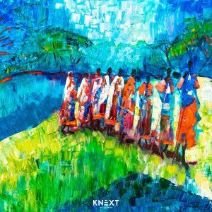 VIGLIETTI Weaving A Love Song Oil on Canvas 1000x1250mm 2020 R85000