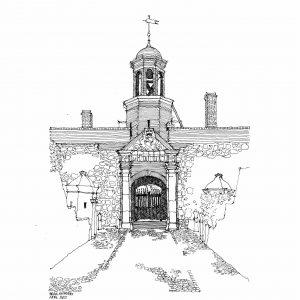 Castle entrance gate edited reduced