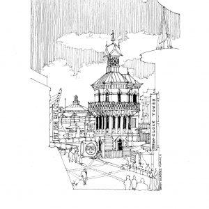 Waterfront clocktower 2020.02.12 edited