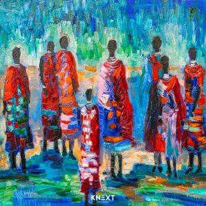 VIGLIETTI Mother Africa Oils on canvas 1250x900mm 2019