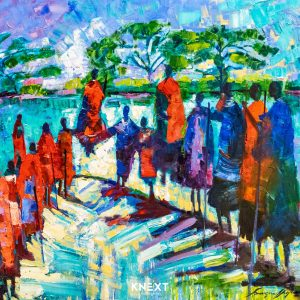 VIGLIETTI Ubuntu Oil on Canvas 1000x1250mm 2020 R85000