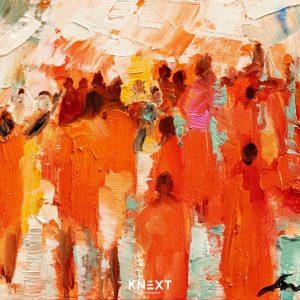 VIGLIETTI Warriors of Life 1 Oil on Canvas 510x260mm