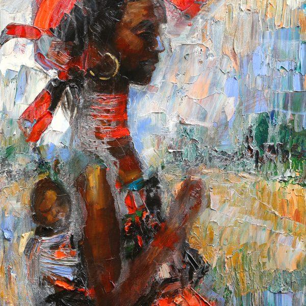 Viglietti Baleka Oil on canvas 460x610mm 2019